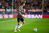 Bayern Munich's player Thomas Muller during match of UEFA Champions League at Vicente Calderon Stadium in Madrid. September 28, Spain. 2016. (ALTERPHOTOS/BorjaB.Hojas)