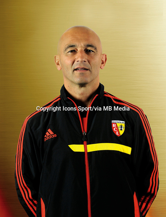 Michel DUFOUR - 11.12.2013 - Photo officielle Lens - Ligue 2<br /> Photo : Rclens.fr / Icon Sport