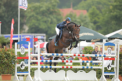 Crotta, Clarissa, Larcon<br /> Elmshorn - Holsteiner Pferdetage<br /> Springen Klasse M Finale 5j.<br /> © www.sportfotos-lafrentz.de/ Stefan Lafrentz