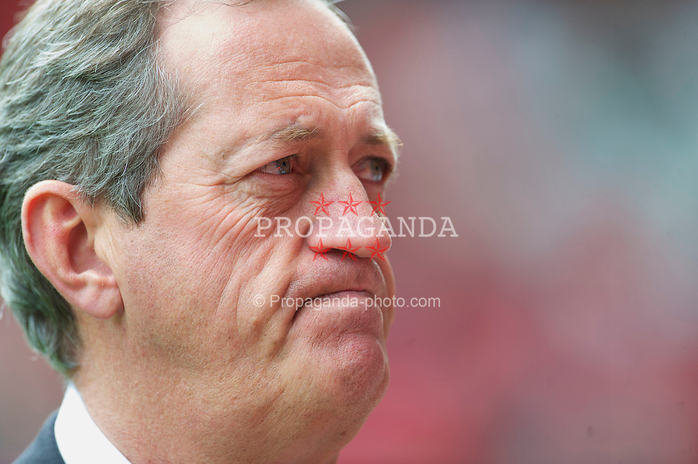 LIVERPOOL, ENGLAND - Sunday, May 2, 2010: Former Socceroos doctor Peter Brukner, who has been appointed head of sports medicine and sports science at Liverpool Football Club, pictured at Anfield before the side's Premiership match against Chelsea. (Photo by David Rawcliffe/Propaganda)