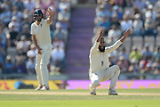 Adil Rashid of England appealing for the wicket of Virat Kohli during the fourth day of the 4th SpecSavers International Test Match 2018 match between England and India at the Ageas Bowl, Southampton, United Kingdom on 2 September 2018.