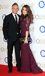 Gary and Danielle Lineker at the Battersea Dogs & Cats Home Collars & Coats Gala Ball in London, Thursday, 7th November 2013. Picture by Stephen Lock / i-Images
