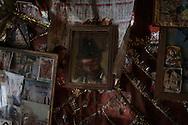 Rahm's room at Baba G's house. Varanasi, India.