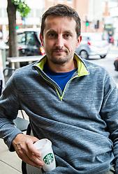 Gabor Aranyos, 38 from Wimbledon speaks about the latest Brexit developments. Wimbledon, London, June 07 2018.