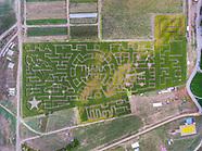 20180929 Corn Maze Drone Images