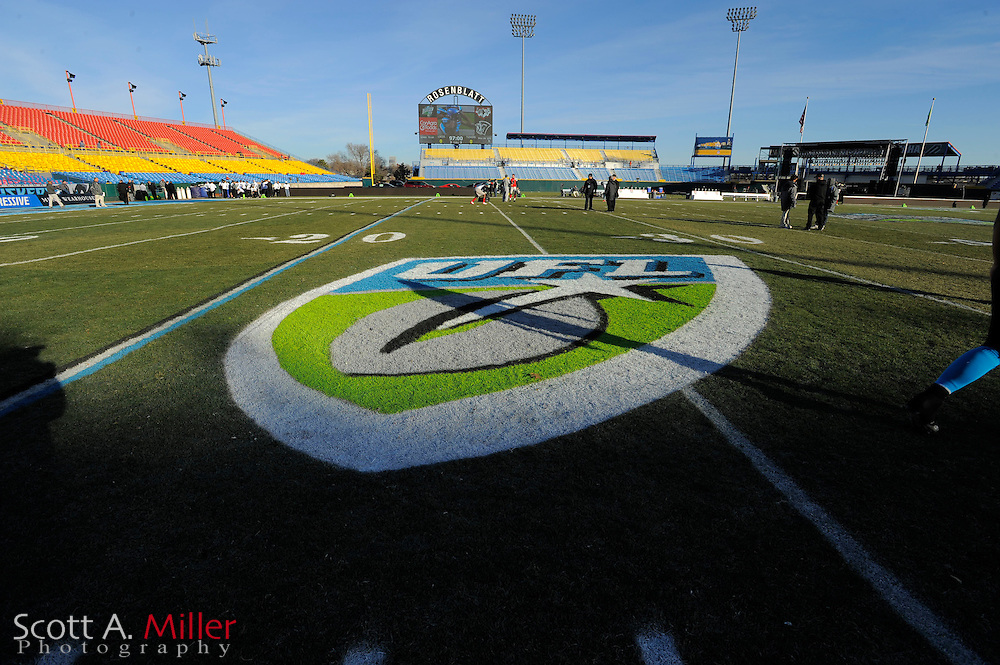 General view of Rosenblatt Stadium prior to the Florida Tuskers vs. Las Vegas Locomotives United Football League championship game at Rosenblatt Stadium on Nov. 27, 2010 in Omaha, Nebraska. Las Vegas won the game 23-20...©2010 Scott A. Miller