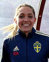 International Women's Friendly Matchs 2019 / <br /> Womens's Algarve Cup Tournament 2019 - <br /> Portugal v Sweden 2-1 ( Municipal Stadium - Albufeira,Portugal ) - <br /> Elin Rubensson of Sweden