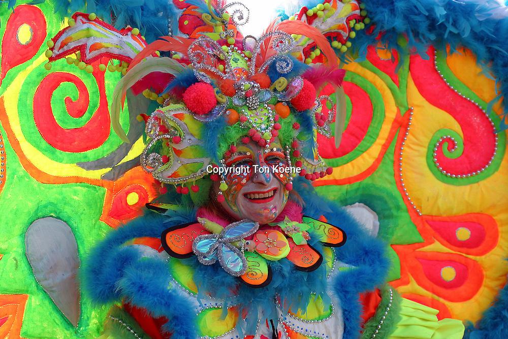 celebrating carnaval in Holland
