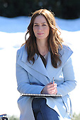 Emily Blunt on Set of new movie
