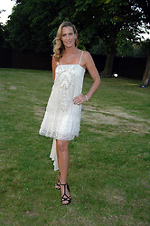 INDIA HICKS at the annual Serpentine Gallery Summer Party in association with Swarovski held at the gallery, Kensington Gardens, London on 11th July 2007.<br /><br />NON EXCLUSIVE - WORLD RIGHTS