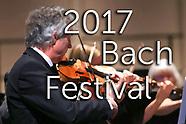 2017 Bach Festival Season