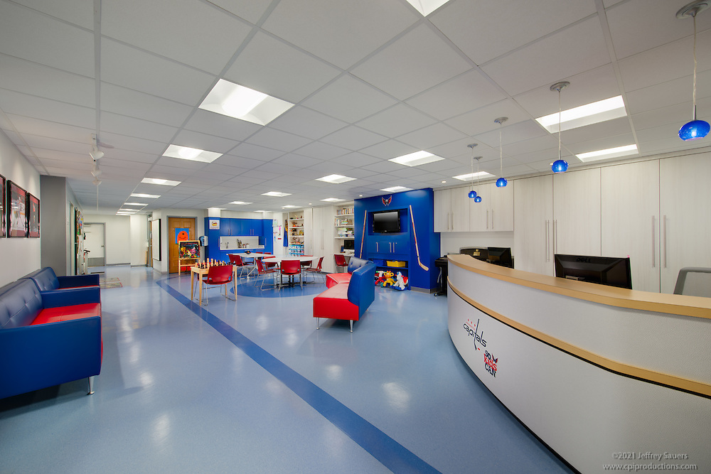 DC Interior Design Image Of Childrens Oncology Clinic At Georgetown University Hospital In Washington By
