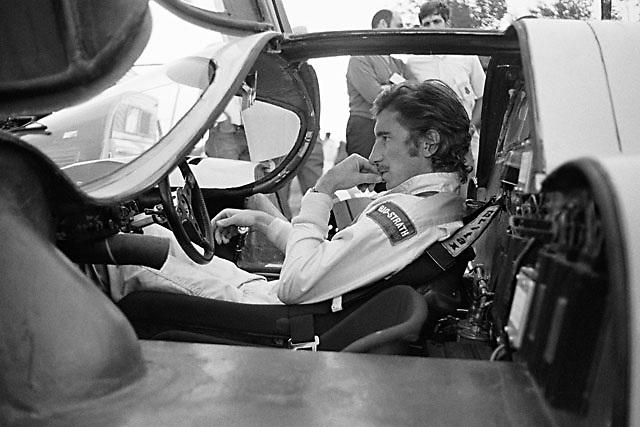 Jo Siffert in Porsche 917 at 1970 Watkins Glen 6-hour race.