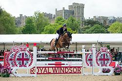 Whitaker William, GBR, Utamaro D Ecaussines<br /> CSI5* Jumping<br /> Royal Windsor Horse Show<br /> © Hippo Foto - Jon Stroud