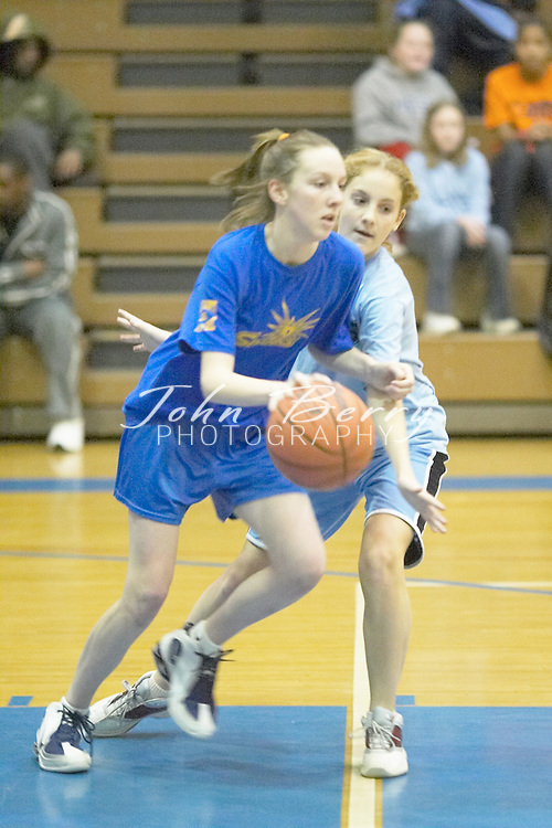 Sparks vs Tar-Heels.WWMS Gym.March 5, 2005