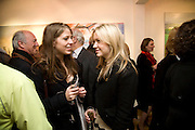HARRIET POLAND AND CAMILLA ELPHICK, ' The Hours' Private view for work by Natasha Kissell. Eleven. Victoria. London. 25 March 2008.  *** Local Caption *** -DO NOT ARCHIVE-© Copyright Photograph by Dafydd Jones. 248 Clapham Rd. London SW9 0PZ. Tel 0207 820 0771. www.dafjones.com.