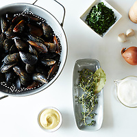 mussels dijonnaise