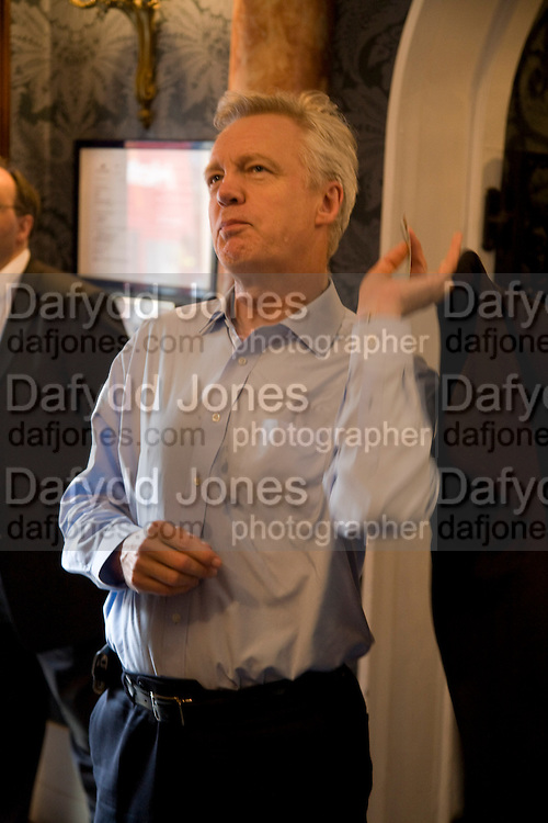 DAVID DAVIES M.P. ,  'Cries from the Heart' presented by Human Rights Watch at the Theatre Royal Haymarket. London. Party afterwards at the Haymarket Hotel. June 8, 2008 *** Local Caption *** -DO NOT ARCHIVE-© Copyright Photograph by Dafydd Jones. 248 Clapham Rd. London SW9 0PZ. Tel 0207 820 0771. www.dafjones.com.