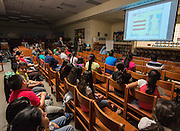 Bond community meeting at Pilgrim Academy, April 5, 2016.