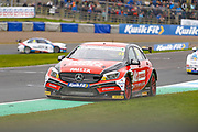 Adam MORGAN Mac Tools with Ciceley Motorsport keepes it on the tarmac during the Kwikfit British Touring Car Championship at Knockhill Racing Circuit, Dunfermline, Scotland on 15 September 2019.