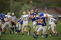 Gilford varsity football versus Bishop Brady October 6, 2012.