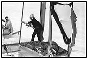 Dangerous Sports club,ski race St. Moritz. 1984.