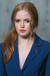 © Licensed to London News Pictures. 26/04/2017. London. ELLIE BAMBER attends the Omega party celebrating 60 Years of the Speedmaster watch. Photo credit: Ray Tang/LNP