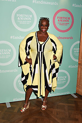 Andi Oliver at the 2017 Fortnum & Mason Food & Drink Awards held at Fortnum & Mason, Piccadilly London England. 11 May 2017.<br /> Photo by Dominic O'Neill/SilverHub 0203 174 1069 sales@silverhubmedia.com