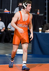 Nick Nelson of the University of Virginia wrestled in the 141 lb weight class.  The 2008 Virginia Intercollegiate Wresting Championships were hosted by the University of Virginia at the John Paul Jones Arena in Charlottesville, VA on January 5, 2008.