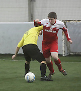 Fintry Rovers B (red) v Borussia Dexys - Dundee Saturday Morning FA Wintertoto 5 a sides at Soccerworld<br /> <br />  - &copy; David Young - www.davidyoungphoto.co.uk - email: davidyoungphoto@gmail.com