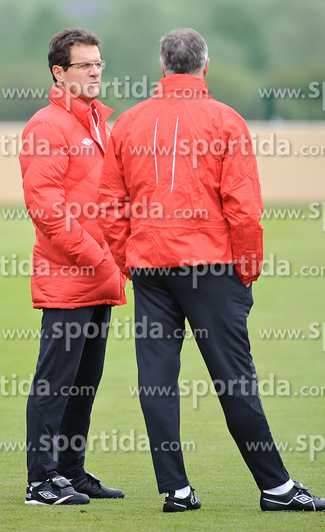 19.05.2010, Arena, Irdning, AUT, FIFA Worldcup Vorbereitung, Training England, im Bild England Nationaltrainer/ Manager Fabio Capello, EXPA Pictures © 2010, PhotoCredit: EXPA/ S. Zangrando / SPORTIDA PHOTO AGENCY