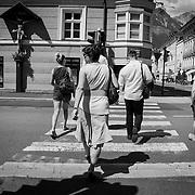 M zur&uuml;ck in Innsbruckauf dem Weg in das Hotel.<br /> &copy; Harald Krieg/Agentur Focus