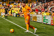 Steven Lawless of Livingstone during the Ladbrokes Scottish Premiership match between Livingston and St Mirren at Tony Macaroni Arena, Livingstone, Scotland on 20 April 2019.