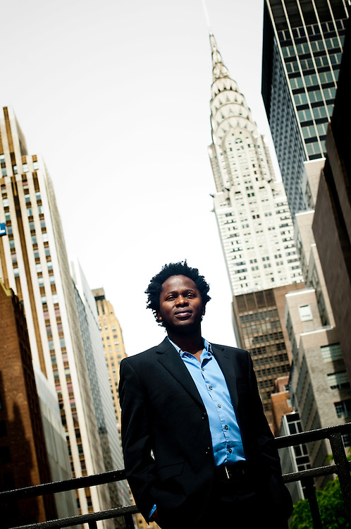 Ishmael Beah, former child soldier in Sierra Leone, now ambassador for the UNICEF in New York...Photographer: Chris Maluszynski /MOMENT