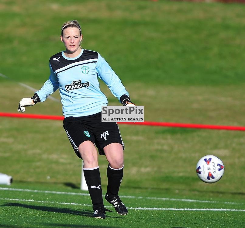 Hannah Reid (Hibs)..Hibernian v Inverness City, Scottish Women's Premier League, 18 March 2012