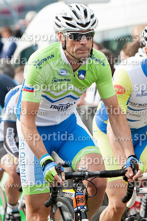 Mitja Hernaus from Slovenia during UCI amateur Road World Championship 2014 on August 31, 2014 in BTC City, Ljubljana, Slovenia. Photo by Urban Urbanc / Sportida.com