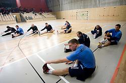 Miladin Kozlina at Open training session for the public of Slovenian handball National Men team before European Championships Austria 2010, on December 27, 2009, in Terme Olimia, Podcetrtek, Slovenia.  (Photo by Vid Ponikvar / Sportida)