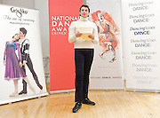 National Dance Awards.Announcement of Nominations.9th November 2012 .at The Place, London, Great Britain ..David Makhateli . ..Photograph by Elliott Franks..Tel 07802 537 220 .elliott@elliottfranks.com..2012©Elliott Franks.Agency space rates apply