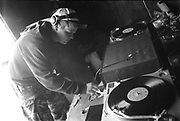 Justin Circus Warp, Glastonbury, 1995.