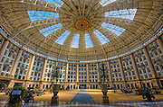 This is the lobby of the West Baden Hotel in French Lick Indiana.  This was one of the conuntry's premier resorts during the 1930's.  Many people from Chicago including gansters went there.  The hotel was completely renovated in 2006.