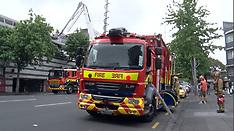 Auckland-Storeroom fire evacuates TVNZ Studios