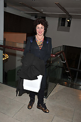 RUBY WAX at the annual WIE (Women: inspiration and enterprise) Awards held after the WIE Symposium... A day of inspirational talks by thought leaders and opinion formers to give young women the tools to succeed in business and life held at The Hospital Club, Endell Street, London on 8th March 2012.