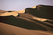 Egypt, 2000 - Sinous dune ridge in the great sand sea