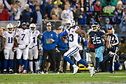 NASHVILLE, TN - DECEMBER 30:  T.Y. Hilton #13 of the Indianapolis Colts runs the ball during a game against the Tennessee Titans at Nissan Stadium on December 30, 2018 in Nashville, Tennessee.  The Colts defeated the Titans 33-17.   (Photo by Wesley Hitt/Getty Images) *** Local Caption *** T.Y. Hilton