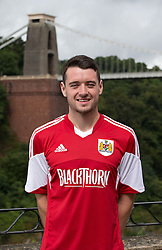 Brendan Maloney of Bristol City - Photo mandatory by-line: Kieran McManus/JMP - Tel: Mobile: 07966 386802 31/07/2013 - SPORT - FOOTBALL - Avon Gorge Hotel - Clifton Suspension bridge - Bristol -  Team Photo