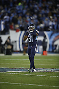 Tennessee Titans free safety Kevin Byard (31) in action during the week 14 regular season NFL football game against the Jacksonville Jaguars on Thursday, Dec. 6, 2018 in Nashville, Tenn. The Titans won the game 30-9. (©Paul Anthony Spinelli)
