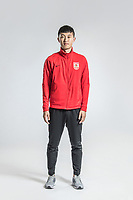 **EXCLUSIVE**Portrait of Chinese soccer player Liu Yu of Changchun Yatai F.C. for the 2018 Chinese Football Association Super League, in Wuhan city, central China's Hubei province, 22 February 2018.