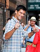 Novak Djokovic & Joseph Gordon-Levitt
