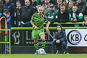 Forest Green Rovers Joseph Mills(23) during the EFL Sky Bet League 2 match between Forest Green Rovers and Plymouth Argyle at the New Lawn, Forest Green, United Kingdom on 16 November 2019.