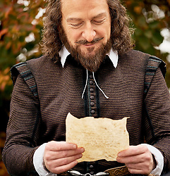 Kenneth Branagh as William Shakespeare